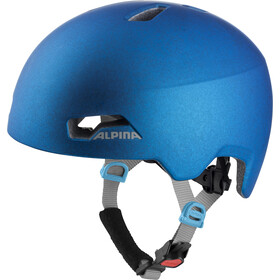 Alpina Hackney Casque Enfant, translucent blue